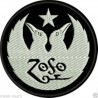 Led Zeppelin Embroidered Patch round