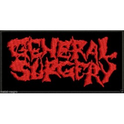 General Surgery Embroidered Patch