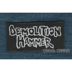Demolition hammer embroidered patch