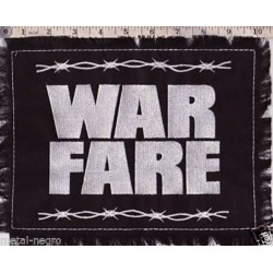 Warfare Embroidered Back Patch