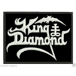 King Diamond embroidered patch