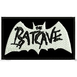 The Batcave embroidered patch