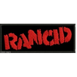 Rancid embroidered patch